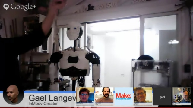 Robot Hacks - InMoov demo 07