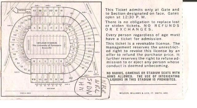 Football-ticket-UT-Memphis-State-1982-Nov-6-back