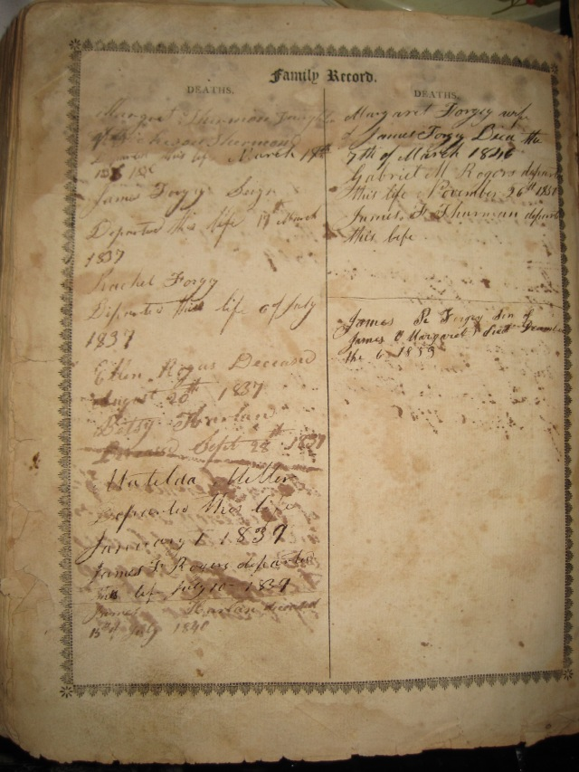 Forgey-Bible-family-record-deaths