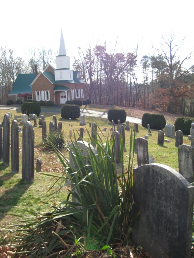 New-Providence-Presbyterian-Church-and-Forgey-gravesites-2007-12-27