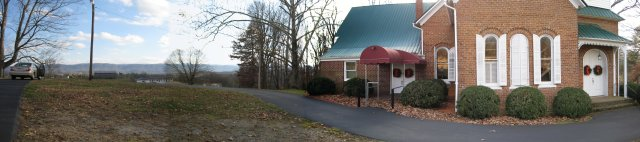 New Providence Presbyterian Church panorama