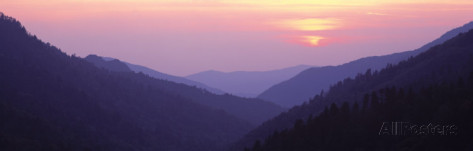 panoramic-images-sunset-great-smoky-mountains-national-park-tennessee-usa
