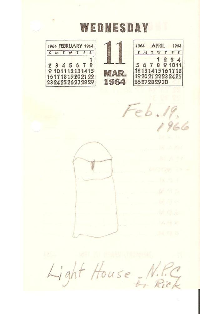 Rick-drawing-1966-02-19-lighthouse-North-Port-Charlotte-Florida