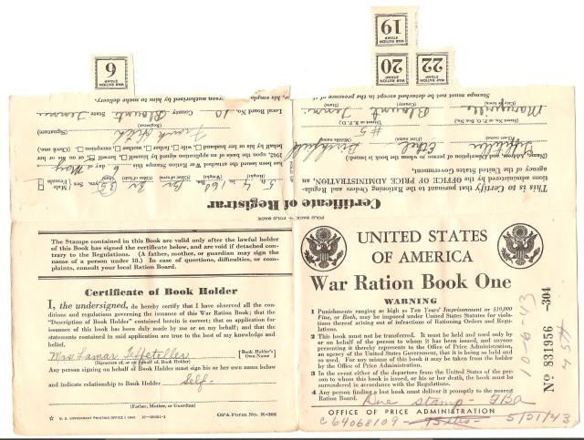 War-ration-Book-One-Ethel-Burchfield-Teffeteller